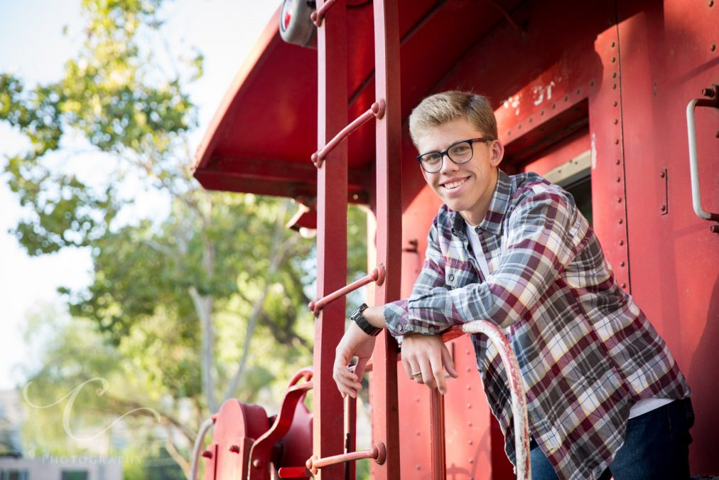 Daniel's Senior Session at Old Town Fillmore