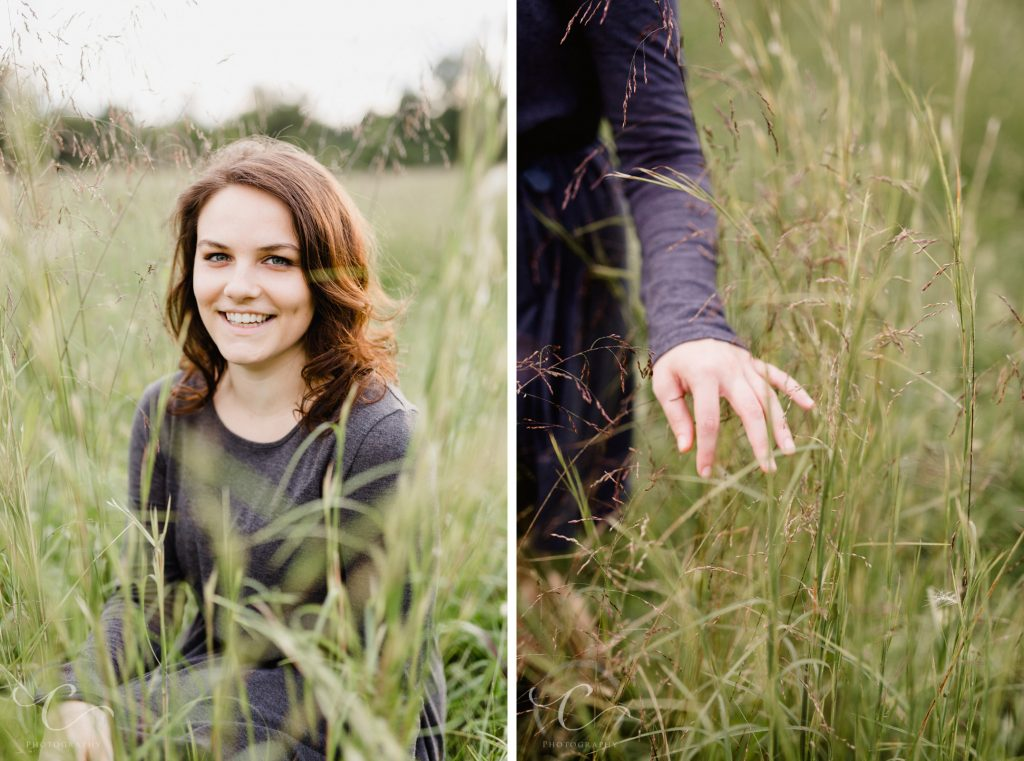 Rachel's Golden Hour Portraits at Morven Park, Leesburg