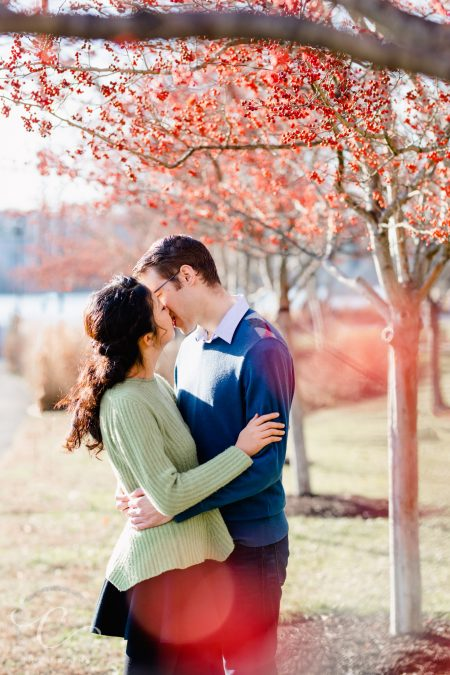 Levi and Mindy's Georgetown Waterfront Engagement Session