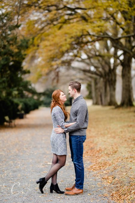 Meridian and Chris's Morven Park Engagement Session