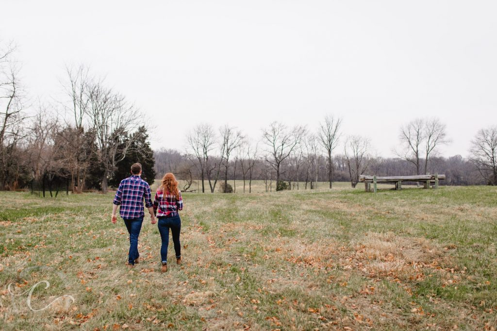 Chris and Meridian's Morven Park Engagement Photos Session