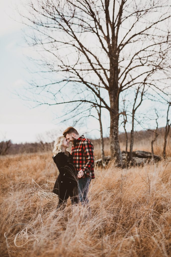 Peter and Mikala Sky Meadows State Park Engagement