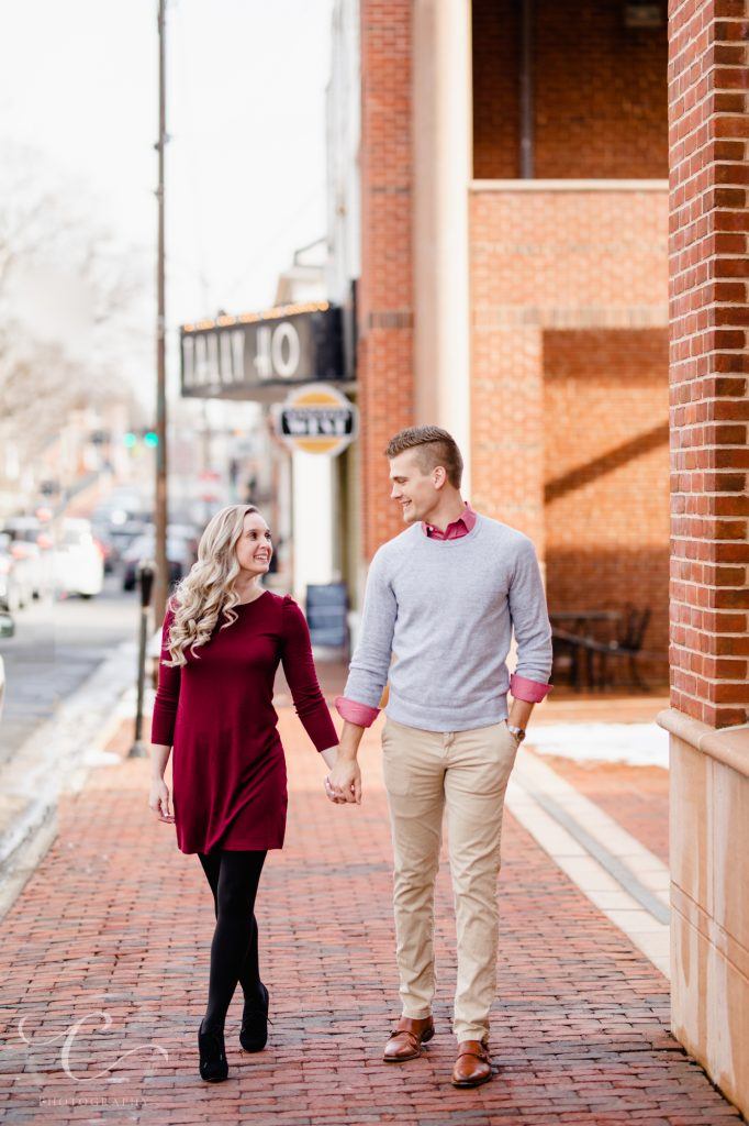 Morven Park Engagement Cooper and Alexis Captured Photography